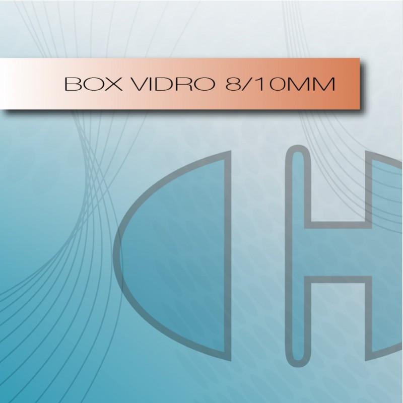 Box Vidro 8/10mm
